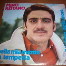 Discos de vinilo: SINGLE DE MINO REITANO, NELLA MIA MENTE LA TEMPESTA. EDICION DURIUM. RARO. D.. Lote 98241047