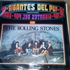 Discos de vinilo: THE ROLLING STONES GIGANTES DEL POP + REGALO 2 ELVIS. Lote 98246011
