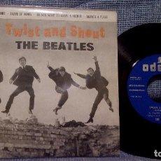 Discos de vinilo: THE BEATLES - TWIST AND SHOUT + 3 EP ORIGINAL ODEON DSOE 16.560 - EDICION ESPAÑOLA DE 1963. Lote 98249211