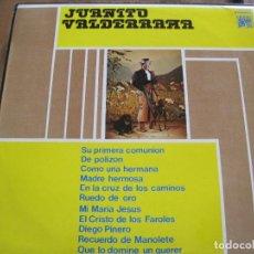 Discos de vinilo: JUANITO VALDERRAMA - S/T - LP CAUDAL 1976. Lote 98317275