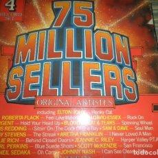 Discos de vinilo: 75 MILLION SELLERS - 4 LP´S - VARIOS INTERPRETES - EDICION INGLESA - INNOVATIVE 1974 - MUY NUEVO(5). Lote 98357695