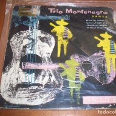 Discos de vinilo: EPS DEL TRIO MONTENEGRO, CANTA. EDICION BELTER. D.. Lote 98358163
