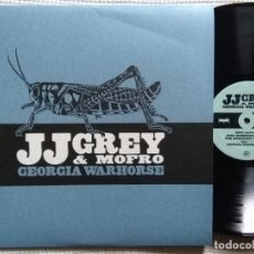 Discos de vinilo: JJ GREY & MOFRO - '' GEORGIA WARHORSE '' LP 180GR. 2011 USA. Lote 98358315
