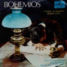 Discos de vinilo: BOHEMIOS. J. PERRIN. M. PALACIOS. LP ORIGINAL. Lote 98358335