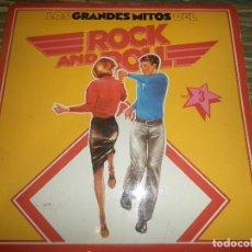 Discos de vinilo: LOS GRANDES MITOS DEL ROCK N ROLL VOL 3 LP - EDICION ESPAÑOLA - ABC RECORDS 1978 - ESTEREO -. Lote 98359575