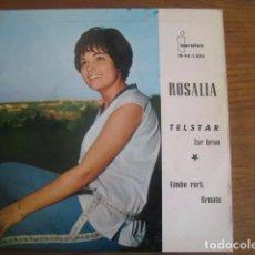 Discos de vinilo: ROSALÍA - TELSTAR + 3 ************************ SUPER RARO EP IBEROFON 1963. Lote 98360499