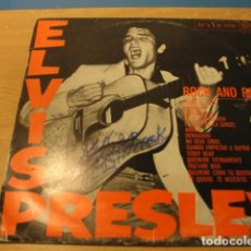 Discos de vinilo: LOTE LP ELVIS PRESLEY ROCK AND ROLL SELLO RCA 1968.....SALIDA 1 EURO. Lote 98369943