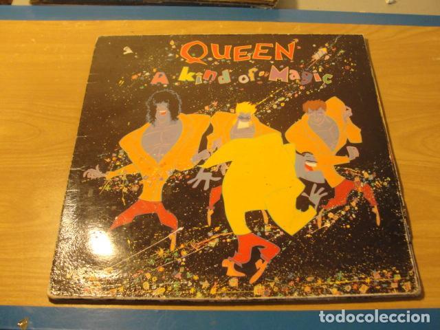 LOTE LP QUEEN A KIND OF MAGIC SELLO EMI 1986.....SALIDA 1 EURO (Música - Discos - LP Vinilo - Pop - Rock - New Wave Extranjero de los 80)