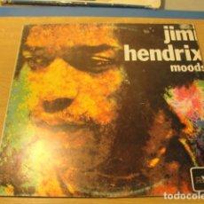 Discos de vinilo: LOTE LP JIMI HENDRIX MOODS SELLO MOVIEPLAY 1983.....DIFICIL .....SALIDA 1 EURO. Lote 98370767