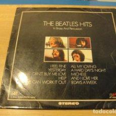 Discos de vinilo: LOTE LP THE BEATLES HITS IN BRASS AND PERCUSSION SELLO EKIPO 1970.....SALIDA 1 EURO. Lote 98370983