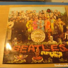 Discos de vinilo: LOTE LP THE BEATLES SªT PEPPERS LONELY HEARTS SELLO ODEON 1967.....SALIDA 1 EURO. Lote 98371047