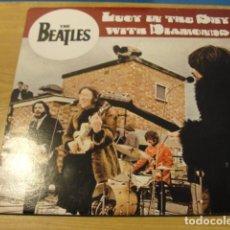 Discos de vinilo: LOTE LP THE BEATLES LUCY IN THE SKY WITH DIAMONDS SELLO VIGTONE VINILO ROJO...MUY RARO..SALIDA 1 EU. Lote 98371223