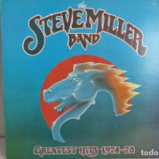 Discos de vinilo: THE STEVE MILLER BAND - GREATEST HITS 1974-1978. Lote 98375655