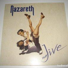 Discos de vinilo: NAZARETH - NO JIVE (1ªEDICIÓN - 3670010.1 MAUSOLEUM 1991- VINILO EDICIÓN ALEMANA). Lote 98381043