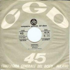 Discos de vinilo: MARISOL SIGNORE ! CARA B GIGLIOLA CINQUETTI SINGLE MADE IN ITAY ( MARISOL CANTA EN ITALIANO ). Lote 98384211