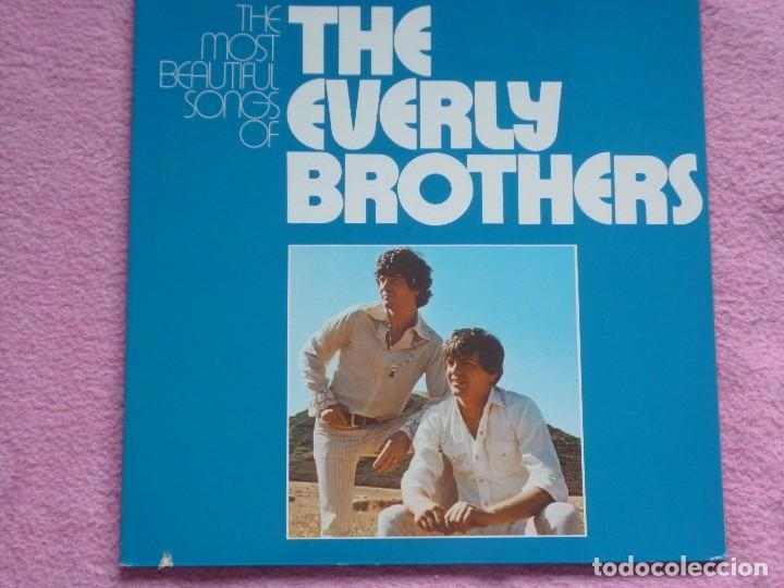 THE EVERLY BROTHERS,THE MOST BEAUTIFUL SONGS EDICION ALEMANA DEL 72 DOBLE LP (Música - Discos - LP Vinilo - Rock & Roll)