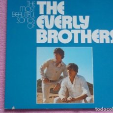 Discos de vinilo: THE EVERLY BROTHERS,THE MOST BEAUTIFUL SONGS EDICION ALEMANA DEL 72 DOBLE LP. Lote 98388459