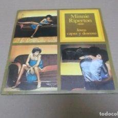 Discos de vinilo: MINNIE RIPERTON (SN) YOUNG WILLING AND ABLE AÑO 1977. Lote 98395807