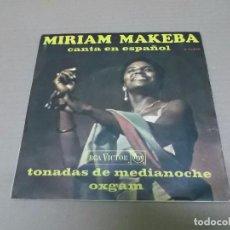 Discos de vinilo: MIRIAM MAKEBA (SN) TONADAS DE MEDIANOCHE AÑO 1968. Lote 98396351