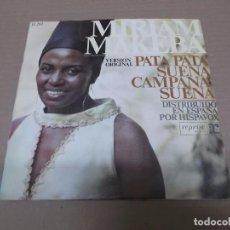 Discos de vinilo: MIRIAM MAKEBA (SN) PATA PATA AÑO 1968. Lote 98396443