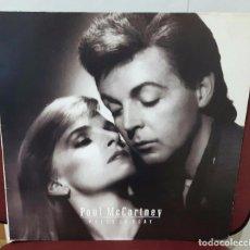 Discos de vinilo: PAUL MCCARTNEY - BEATLES - PRESS TO PLAY- LP - EEC ALEMANIA- FRANCIA- HOLANDA - PORTADA SE ABRE. Lote 98396663