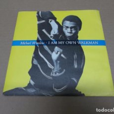 Discos de vinilo: MICHAEL WINSLOW (SN) I AM OWN WALKMAN AÑO 1985 - PROMOCIONAL. Lote 98396959