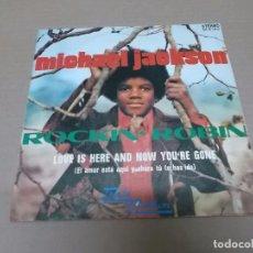 Discos de vinilo: MICHAEL JACKSON (SN) ROCKIN' ROBIN AÑO 1972. Lote 98397879