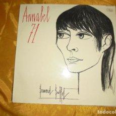 Discos de vinilo: ANNABEL BUFFET. ANNABEL 71. BARCLAY, EDICION FRANCESA. IMPECABLE. Lote 98398319
