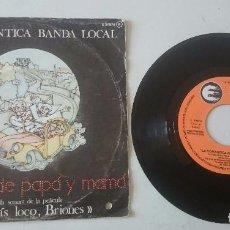 Discos de vinilo: LA ROMÁNTICA BANDA LOCAL: HISTORIAS DE PAPA Y MAMÁ + 3 (CFE 1980). Lote 98417499