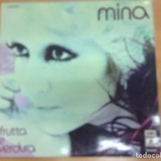 Discos de vinilo: LP MINA / FRUTTA E VERDURA EDITADO EN ESPAÑA EMI ODEON 1974. Lote 98425495