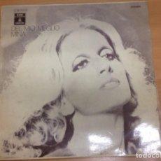 Discos de vinilo: LP MINA / DEL MIO MEGLIO MINA EDITADO EN ESPAÑA EMI ODEON 1971. Lote 98425547