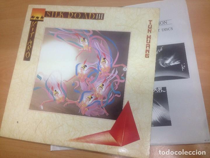LP KITARO / SILK ROAD VOL3 POLYDOR 1981 CON ENCARTES (Música - Discos - LP Vinilo - Electrónica, Avantgarde y Experimental)