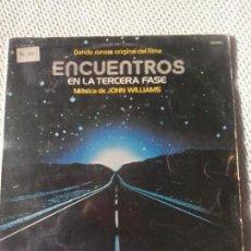 Discos de vinilo: JOHN WILLIAMS - BANDA SONORA ORIGINAL DE FILME, ENCUENTROS EN LA TERCERA FASE LP. Lote 98426887