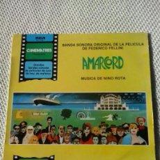Discos de vinilo: NINO ROTA - AMARCORD DE FELLINI, RCA, LP. Lote 98428407