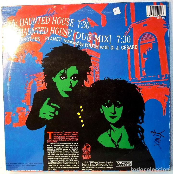 Alien sex fiend - haunted house - maxi single - Sold through Direct