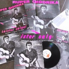 Discos de vinilo: FOLDER RUPER ORDORIKA LP EZ DA POSIBLE.CON PÓSTER Y MATERIAL PROMOCIONAL.1990. Lote 98435871