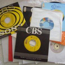 Discos de vinilo: SINGLE VINILO - -LOTE 23 SINGLES PROMOCIONALES PROCEDENTES DE EMISORAS DE RADIO - VER DESCRIPCION. Lote 98436107