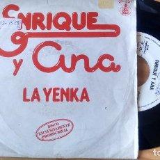 Discos de vinilo: SINGLE (VINILO)-PROMOCION- DE ENRIQUE Y ANA AÑOS 70. Lote 98444167