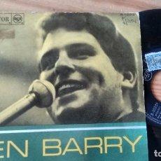 Discos de vinilo: SINGLE (VINILO) DE LEN BARRY AÑOS 60. Lote 98455351