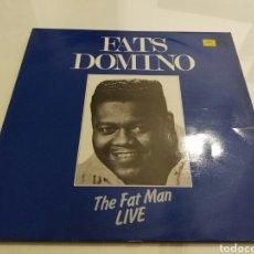 Discos de vinilo: FATS DOMINO- LP THE FAT MAN LIVE- MAGNUM FORCE RECORDS ENGLAND 1. Lote 98462196