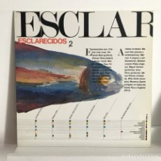 Discos de vinilo: ESCLARECIDOS - 2 - MOVIDA. Lote 98463783