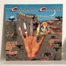 Discos de vinilo: THE CASSANDRA COMPLEX - THE WAR AGAINST SLEEP. Lote 98463487