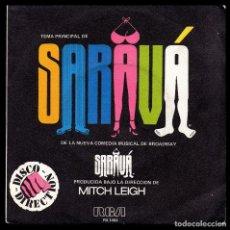 Discos de vinilo: SARAVA, COMEDIA DE BROADWAY.. Lote 98476579