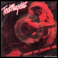 Disques de vinyle: TED NUGENT, YANK ME Y DEMAS.. Lote 98477927