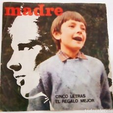 Discos de vinilo: SINGLE DE MADRE (1971). Lote 98477944