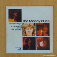 Discos de vinilo: THE MOODY BLUES - I´M JUST A SINGER IN A ROCK AND ROLL BAND - SINGLE. Lote 98478230