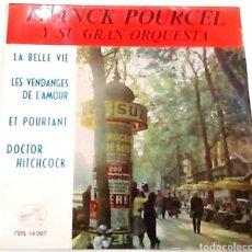 Discos de vinilo: SINGLE DE FRANCK POURCEL Y SU ORQUESTA (1963). Lote 98480399