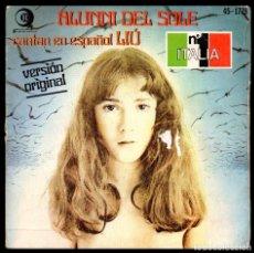 Discos de vinilo: ALUNNI DEL SOLE, LIU Y DEMAS.. Lote 98482387
