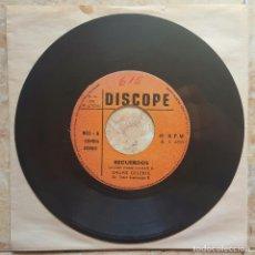 Discos de vinilo: GRUPO CELESTE - RECUERDOS 45S 1970S PERÚ CUMBIA PSYCH!! CHACALON. Lote 98489835