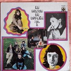 Discos de vinilo: MARISOL - MOCEDADES - MARIA DOLORES PRADERA - LP LO MEJOR DE ESPAÑA VOL. 3 HECHO EN MEXICO. Lote 98496639